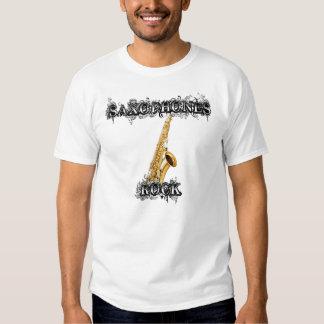 Saxophones Rock Tshirt