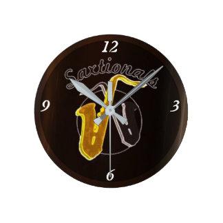 Saxtionals Clock