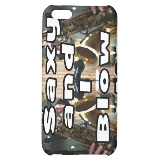 saxy and I blow it middle bw double solid player p iPhone 5C Cover
