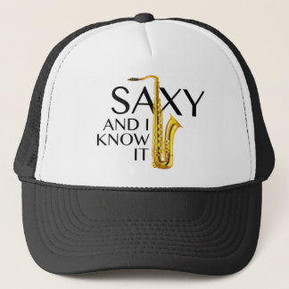 Saxy And I Know It Cap