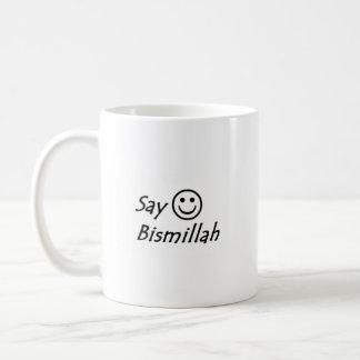 Say Bismillah Mug