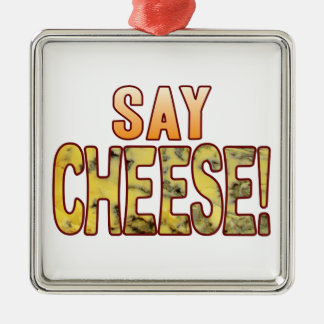 Say Blue Cheese Christmas Ornament