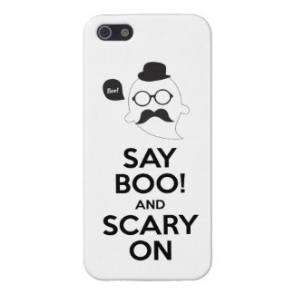 Say boo! and scary on Halloween iPhone5/5s case iPhone 5 Cover
