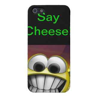 Say Cheese iPhone 5 Cases