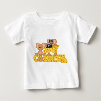 Say Cheese Mouse Baby T-Shirt