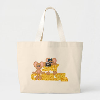 Say Cheese Mouse Canvas Bag