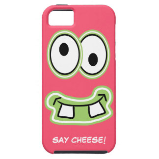 Say Cheese! Silly Cute Monster Iphone Face iPhone 5 Covers