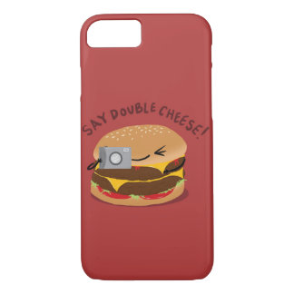 Say Double Cheese! iPhone 7 Case