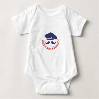 SAY IT IN FRENCH BABY BODYSUIT