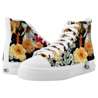 Say it with flowers printed shoes