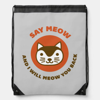 Say Meow Backpack