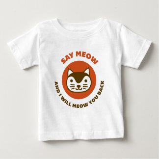 Say Meow Tshirt