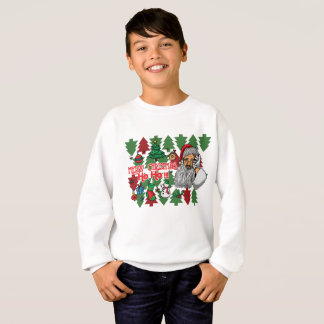 Say Merry Christmas With This Santa Claus Sweatshirt