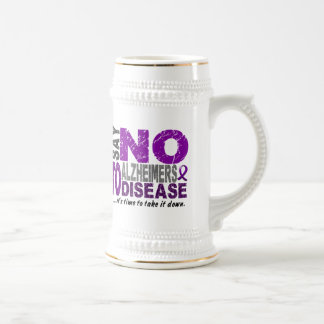 Say NO To Alzheimers Disease 1 Coffee Mugs