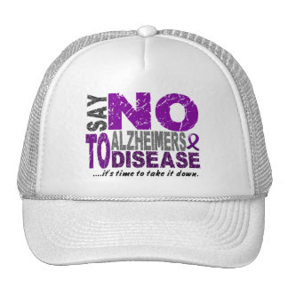 Say NO To Alzheimers Disease 1 Trucker Hats