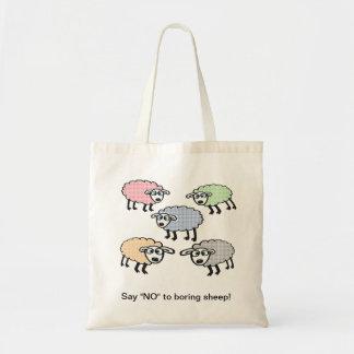 """Say """"NO"""" to boring sheep bag."""