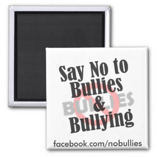 Say No to Bullies Fridge Magnets