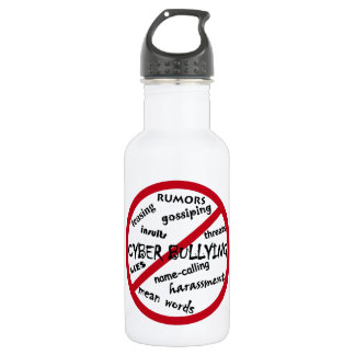 Say No to Bullying 18oz Water Bottle