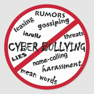 Say No to Bullying Sticker