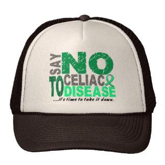 Say NO To Celiac Disease 1 Mesh Hats