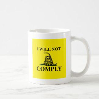 Say NO to Communism! Basic White Mug