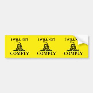 Say NO to Communism! Bumper Sticker