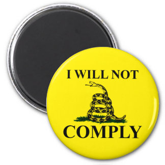 Say NO to Communism! Refrigerator Magnets