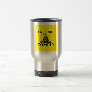 Say NO to Communism! Stainless Steel Travel Mug