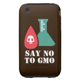 Say No to GMO Tough iPhone 3 Cases
