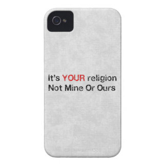 Say No To God Cults Case-Mate iPhone 4 Case
