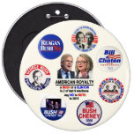 Say No to Jeb & Hillary in 2016 6 Cm Round Badge