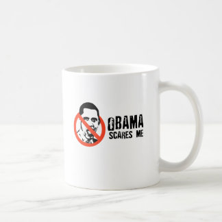 Say No To Obama 1 scares me.png Coffee Mugs