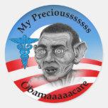 Say No to Obamacare Round Sticker