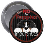 Say NO To Pet Shop Puppies Button