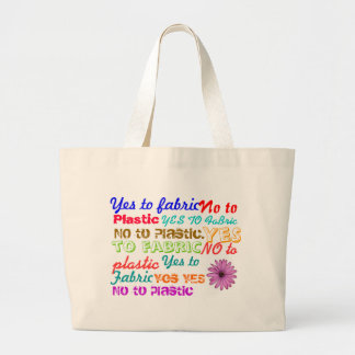 Say No to Plastic Tote Bags