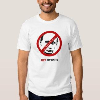 Say NO to Putin нет Путину Tee Shirt
