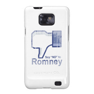 Say No to Romney Faded.png Samsung Galaxy SII Covers