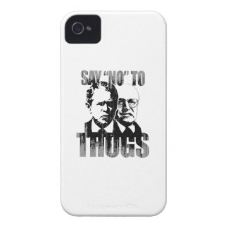 Say No to Thugs Faded.png iPhone 4 Cases