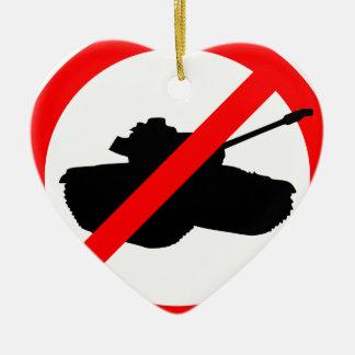 Say No To Wars Christmas Ornaments