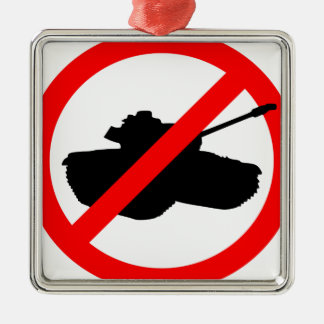 Say No To Wars Ornament