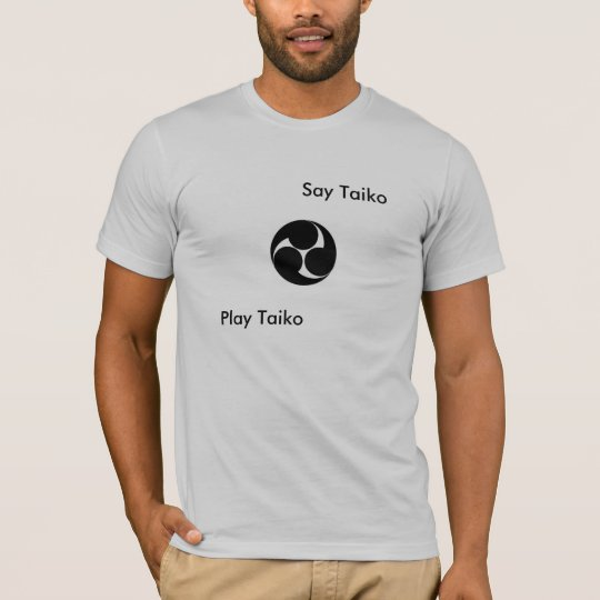 "Say Taiko - Play Taiko ""Kuchi Showa"" T-shirt"