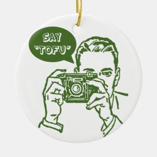 Say Tofu Christmas Ornament