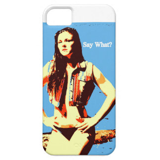 say what iphone case iPhone 5 cover