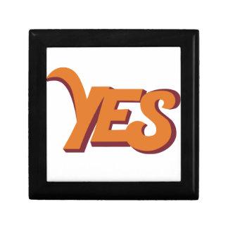 Say yes gift box
