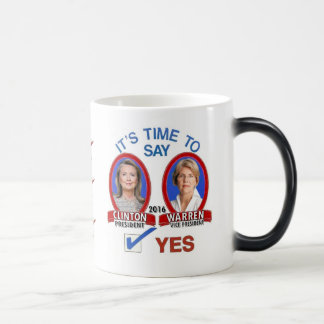 Say Yes to Hillary & Liz in 2016 Mugs