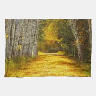 Say You'll Follow Me Landscape Kitchen Towel