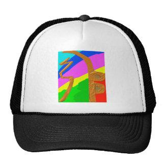 Sayhayki   BOLD Rainbow Trucker Hat