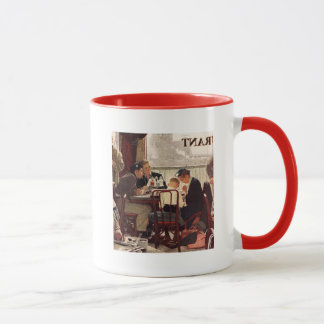 Saying Grace by Norman Rockwell Mug