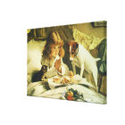 Saying Our Prayers, Suspense Charles Burton Barber Canvas Print