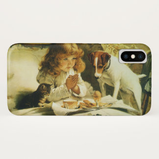 Saying Our Prayers, Suspense Charles Burton Barber iPhone X Case